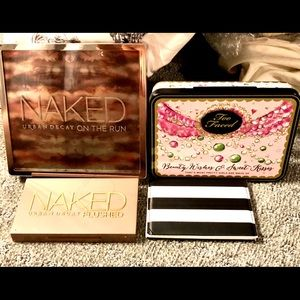 Urban Decay and Too Faced Bundle! Face Palettes
